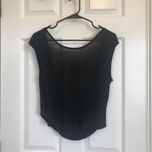 Bella Luxx Top with Draped Low Back